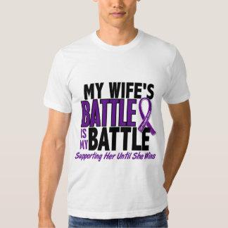 Mi de la batalla cáncer pancreático de la esposa remeras