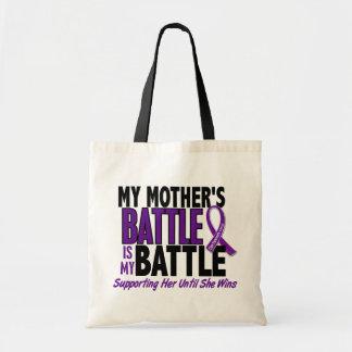 Mi de la batalla cáncer pancreático de la madre ta bolsas de mano