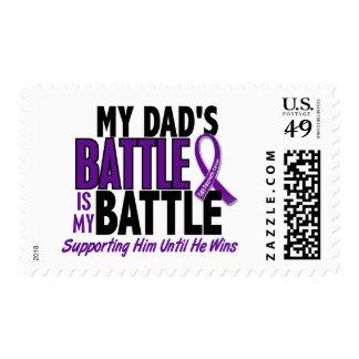 Mi de la batalla cáncer pancreático del papá sello