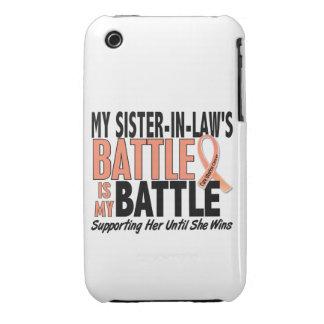 Mi de la batalla cáncer uterino de la cuñada tambi iPhone 3 protector
