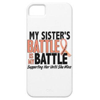 Mi de la batalla cáncer uterino de la hermana tamb iPhone 5 Case-Mate cárcasa