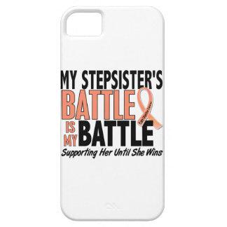 Mi de la batalla cáncer uterino de la hermanastra iPhone 5 Case-Mate fundas