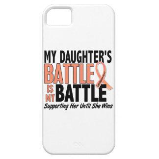Mi de la batalla cáncer uterino de la hija también iPhone 5 carcasa