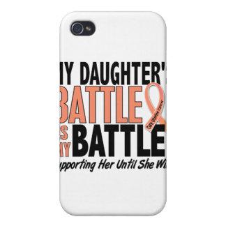 Mi de la batalla cáncer uterino de la hija también iPhone 4 carcasas