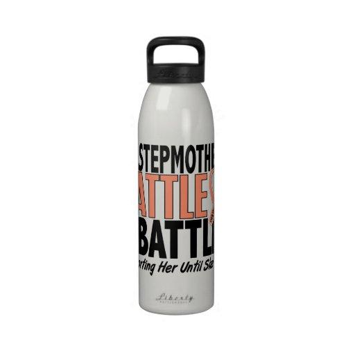 Mi de la batalla cáncer uterino de la madrastra ta botella de agua