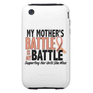 Mi de la batalla cáncer uterino de la madre tambié iPhone 3 tough fundas