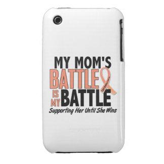 Mi de la batalla cáncer uterino de la mamá también iPhone 3 Case-Mate fundas