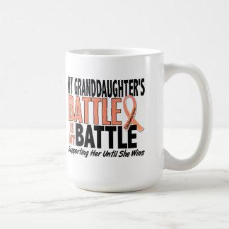 Mi de la batalla cáncer uterino de la nieta taza clásica