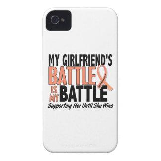 Mi de la batalla cáncer uterino de la novia tambié iPhone 4 Case-Mate cárcasas