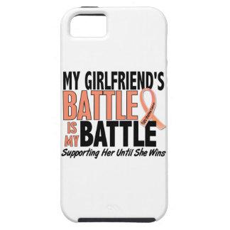 Mi de la batalla cáncer uterino de la novia tambié iPhone 5 Case-Mate protectores
