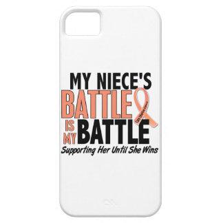 Mi de la batalla cáncer uterino de la sobrina tamb iPhone 5 protector