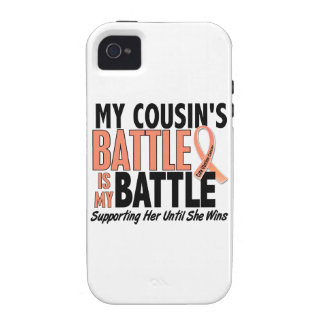 Mi de la batalla cáncer uterino del primo también Case-Mate iPhone 4 fundas