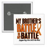 Mi de la batalla leucemia de Brother también Pin