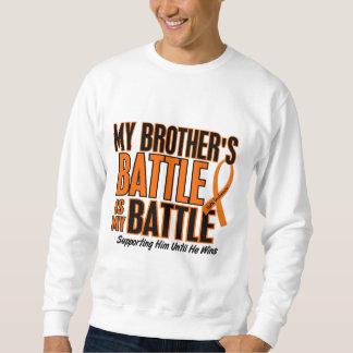 Mi de la batalla leucemia de Brother también Sudadera