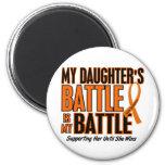 Mi de la batalla leucemia de la hija también imán