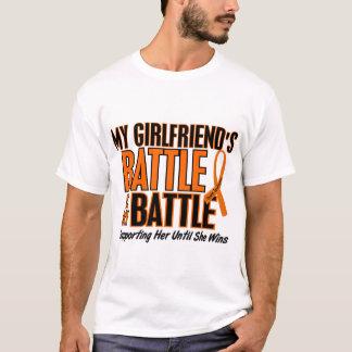 Mi de la batalla leucemia de la novia también playera