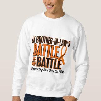 Mi de la batalla leucemia del cuñado también sudadera