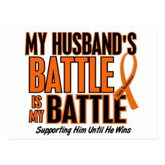 Mi de la batalla leucemia del marido también postales