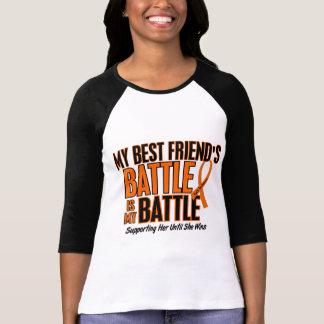 Mi de la batalla leucemia del mejor amigo también camisetas