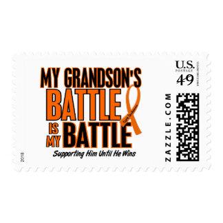 Mi de la batalla leucemia del nieto también franqueo