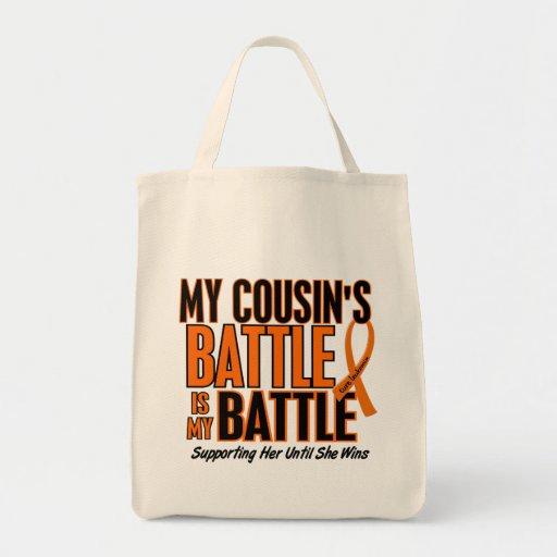 Mi de la batalla leucemia del primo también bolsa tela para la compra