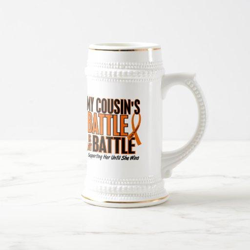 Mi de la batalla leucemia del primo también taza de café