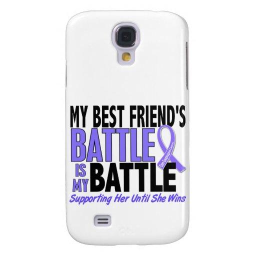 Mi de la batalla mejor amigo también Canc del esóf Funda Para Galaxy S4