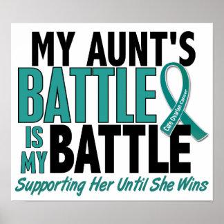 Mi de la batalla tía cáncer ovárico también poster