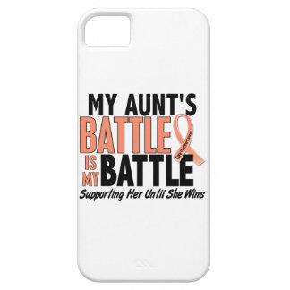 Mi de la batalla tía Uterine Cancer también iPhone 5 Carcasas