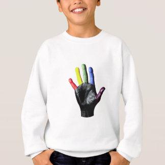 ¡Mi delantal de la impresión de la mano.! Camisas