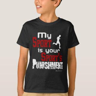 Mi deporte es el castigo de su deporte - varón remeras