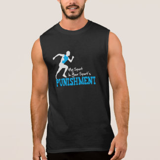 Mi deporte es su camiseta sin mangas del castigo d