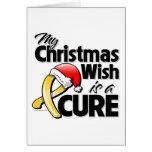 Mi deseo del navidad de COPD es una curación Tarjeta