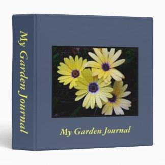 """Mi diario 1,5"""" del jardín carpeta"""