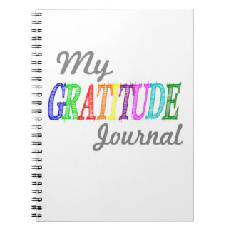 Mi diario de la gratitud libreta espiral