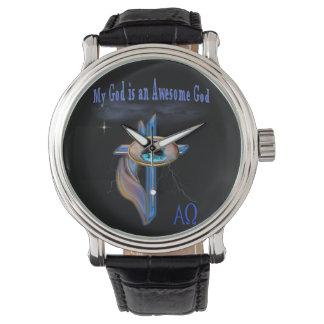 Mi dios es artículos impresionantes de dios reloj