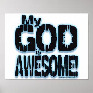 ¡Mi DIOS es IMPRESIONANTE! Póster