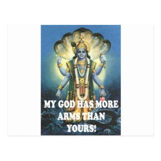 mi dios tarjeta postal
