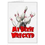 Mi Dixie arruinó bolos Felicitaciones