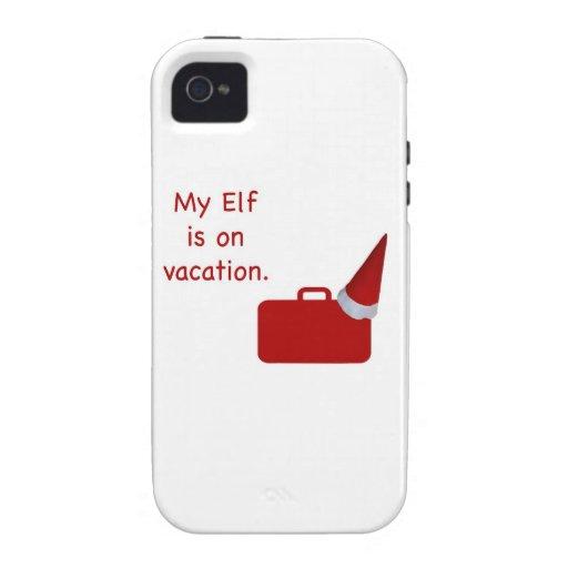Mi duende está en productos de las vacaciones vibe iPhone 4 funda