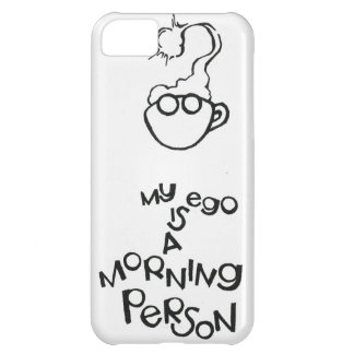 Mi ego es una persona de la mañana