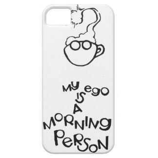 Mi ego es una persona de la mañana funda para iPhone SE/5/5s