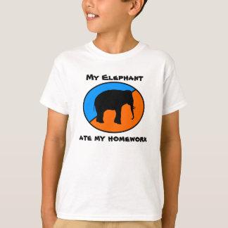 Mi elefante comió mi preparación polera