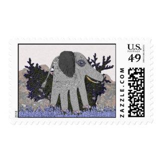 Mi elefante del bebé sello