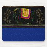 Mi elefante indio - zafiro tapete de ratón
