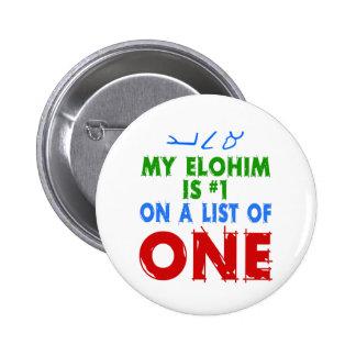 Mi Elohim es #1 en una lista de una Pins