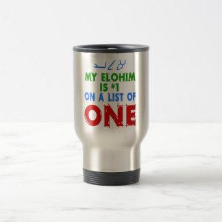 Mi Elohim es #1 en una lista de una Tazas De Café