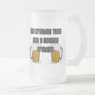 Mi equipo de consumición tiene un problema de los  taza cristal mate