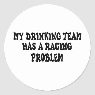 Mi equipo de consumición tiene un problema que etiquetas redondas