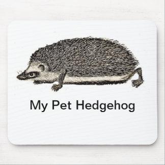 Mi erizo del mascota tapetes de ratón